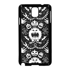 Wrapping Paper Nightmare Monster Sinister Helloween Ghost Samsung Galaxy Note 3 Neo Hardshell Case (black)
