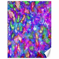 Abstract Trippy Bright Sky Space Canvas 18  X 24   by Simbadda