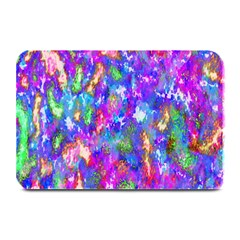 Abstract Trippy Bright Sky Space Plate Mats by Simbadda