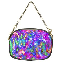 Abstract Trippy Bright Sky Space Chain Purses (two Sides)  by Simbadda