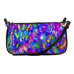 Abstract Trippy Bright Sky Space Shoulder Clutch Bags by Simbadda