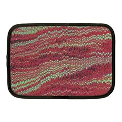 Scaly Pattern Colour Green Pink Netbook Case (medium)  by Alisyart