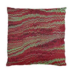 Scaly Pattern Colour Green Pink Standard Cushion Case (two Sides) by Alisyart