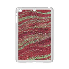 Scaly Pattern Colour Green Pink Ipad Mini 2 Enamel Coated Cases