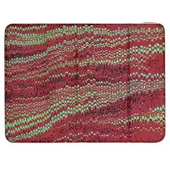Scaly Pattern Colour Green Pink Samsung Galaxy Tab 7  P1000 Flip Case
