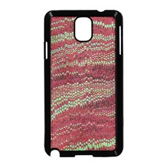 Scaly Pattern Colour Green Pink Samsung Galaxy Note 3 Neo Hardshell Case (black)
