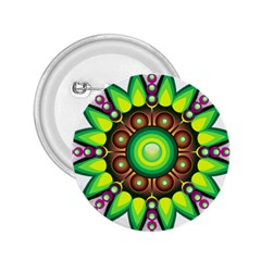 Design Elements Star Flower Floral Circle 2 25  Buttons