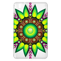 Design Elements Star Flower Floral Circle Samsung Galaxy Tab Pro 8 4 Hardshell Case