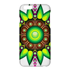 Design Elements Star Flower Floral Circle Apple Iphone 6 Plus/6s Plus Hardshell Case by Alisyart
