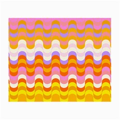 Dna Early Childhood Wave Chevron Rainbow Color Small Glasses Cloth (2 Side)