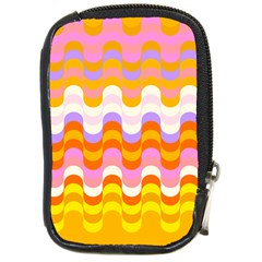Dna Early Childhood Wave Chevron Rainbow Color Compact Camera Cases