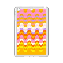 Dna Early Childhood Wave Chevron Rainbow Color Ipad Mini 2 Enamel Coated Cases