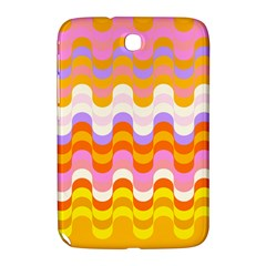 Dna Early Childhood Wave Chevron Rainbow Color Samsung Galaxy Note 8 0 N5100 Hardshell Case  by Alisyart