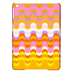 Dna Early Childhood Wave Chevron Rainbow Color Ipad Air Hardshell Cases