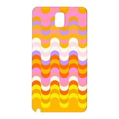 Dna Early Childhood Wave Chevron Rainbow Color Samsung Galaxy Note 3 N9005 Hardshell Back Case by Alisyart