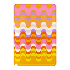 Dna Early Childhood Wave Chevron Rainbow Color Samsung Galaxy Tab Pro 10 1 Hardshell Case by Alisyart