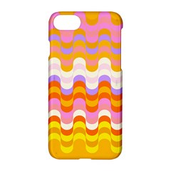 Dna Early Childhood Wave Chevron Rainbow Color Apple Iphone 7 Hardshell Case by Alisyart