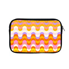 Dna Early Childhood Wave Chevron Rainbow Color Apple Macbook Pro 13  Zipper Case by Alisyart