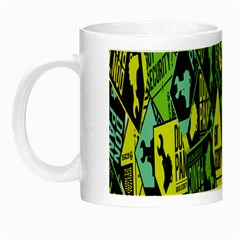 Don t Panic Digital Security Helpline Access Night Luminous Mugs by Alisyart