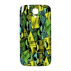 Don t Panic Digital Security Helpline Access Samsung Galaxy S4 I9500/i9505  Hardshell Back Case by Alisyart