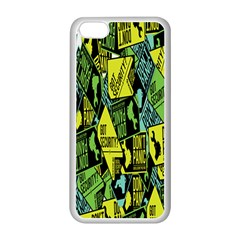 Don t Panic Digital Security Helpline Access Apple Iphone 5c Seamless Case (white) by Alisyart