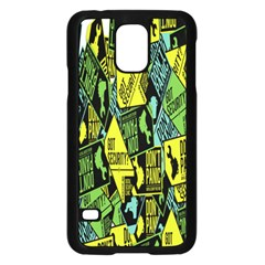 Don t Panic Digital Security Helpline Access Samsung Galaxy S5 Case (black) by Alisyart