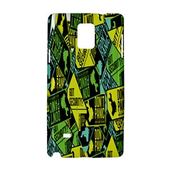 Don t Panic Digital Security Helpline Access Samsung Galaxy Note 4 Hardshell Case by Alisyart