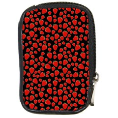 Strawberry  Pattern Compact Camera Cases by Valentinaart