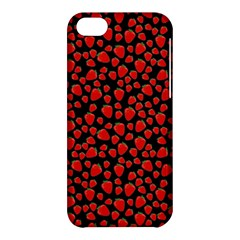 Strawberry  Pattern Apple Iphone 5c Hardshell Case by Valentinaart
