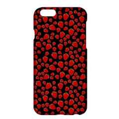 Strawberry  Pattern Apple Iphone 6 Plus/6s Plus Hardshell Case by Valentinaart