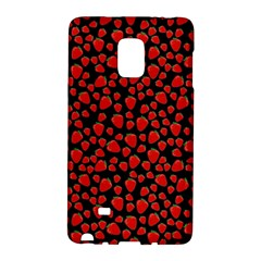 Strawberry  Pattern Galaxy Note Edge by Valentinaart