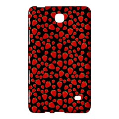 Strawberry  Pattern Samsung Galaxy Tab 4 (8 ) Hardshell Case  by Valentinaart