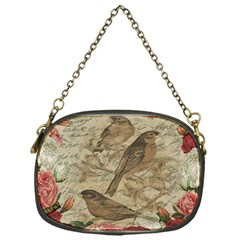 Vintage Birds Chain Purses (one Side)  by Valentinaart