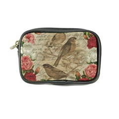 Vintage Birds Coin Purse by Valentinaart