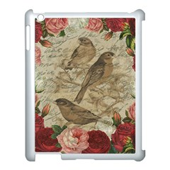 Vintage Birds Apple Ipad 3/4 Case (white) by Valentinaart