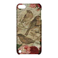 Vintage Birds Apple Ipod Touch 5 Hardshell Case With Stand by Valentinaart