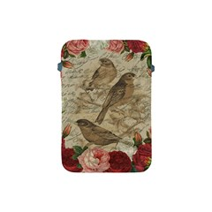 Vintage Birds Apple Ipad Mini Protective Soft Cases by Valentinaart