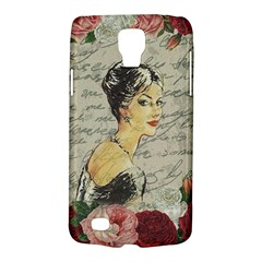 Vintage Girl Galaxy S4 Active by Valentinaart
