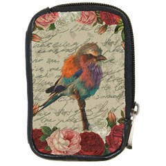 Vintage Bird Compact Camera Cases by Valentinaart