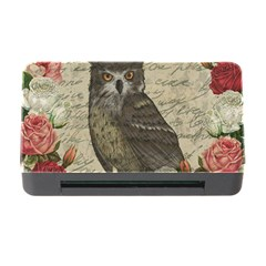 Vintage Owl Memory Card Reader With Cf by Valentinaart