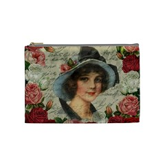 Vintage Girl Cosmetic Bag (medium)