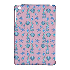 Seahorse Pattern Apple Ipad Mini Hardshell Case (compatible With Smart Cover) by Valentinaart