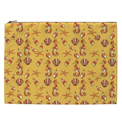 Seahorse Pattern Cosmetic Bag (xxl)