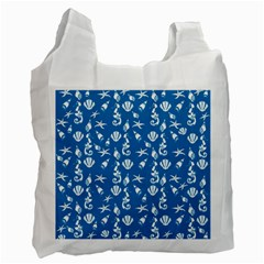 Seahorse Pattern Recycle Bag (two Side)