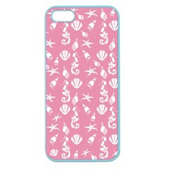 Seahorse Pattern Apple Seamless Iphone 5 Case (color)