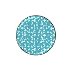 Seahorse Pattern Hat Clip Ball Marker (4 Pack) by Valentinaart