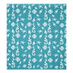Seahorse Pattern Shower Curtain 66  X 72  (large)  by Valentinaart