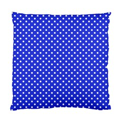 Polka Dots Standard Cushion Case (one Side) by Valentinaart
