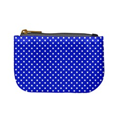 Polka Dots Mini Coin Purses by Valentinaart