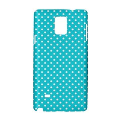 Polka Dots Samsung Galaxy Note 4 Hardshell Case by Valentinaart